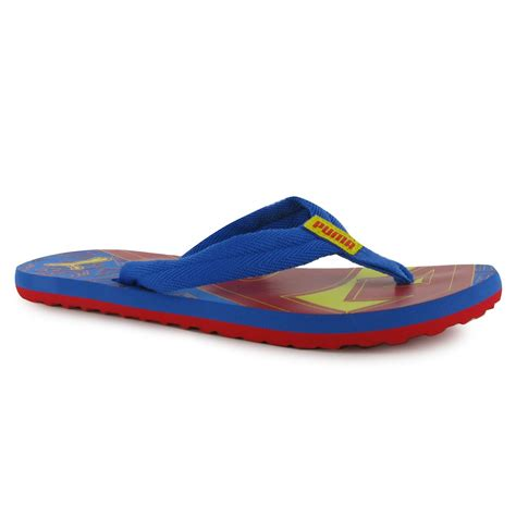 superman sandals childrens boys superman flip flops sandals