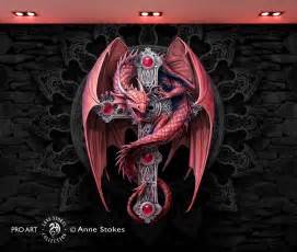 Cars Wall Murals anne stokes gothic guardian ggasw001
