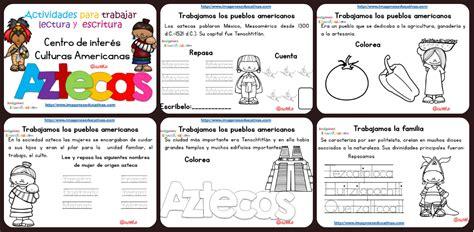 Imagenes De Aztecas Para Niños | tabajamos la lecto escritura centro de interes los aztecas