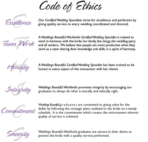 code of ethics paper