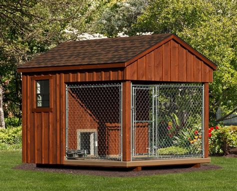 prefab dog house 8x10 prefab dog kennel not a kit delivered fully assembled and ready for immediate