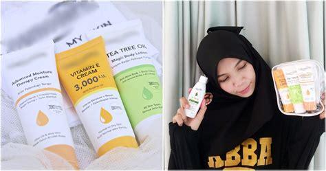 inilah produk penjagaan kulit lokal  bagus  malaysia