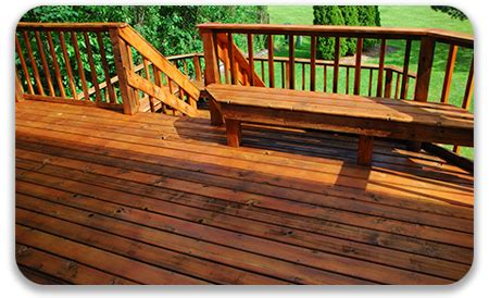 metrony power washing deck refinishing