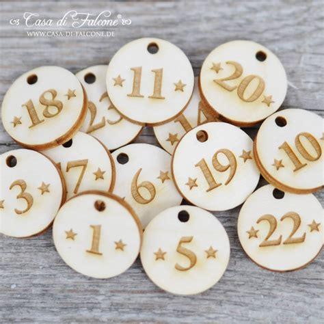 Adventskalender Zahlen Holz by Holzanh 228 Nger Adventskalender Zahlen Casa Di Falcone