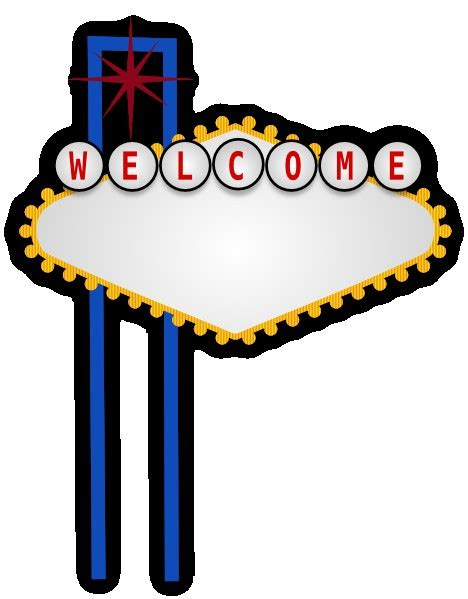 welcome to las vegas sign template blank las vegas sign template exle resume template