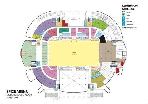 arena floor plan setia spice
