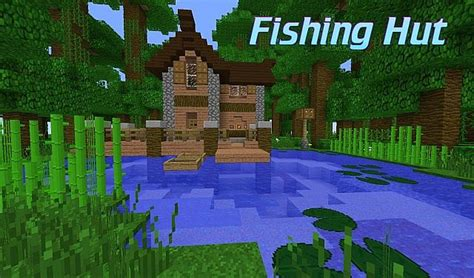 Home Design Diamonds jungle fishing hut minecraft project