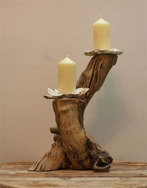 candele it 20 idee per portacandele fai da te in legno mondodesign it