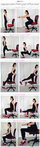 Desk Leg Exercises by Health Offices And Fitness On