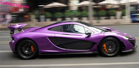 mclaren p1 purple brasilmultas mclaren p1 is shiny purple in china