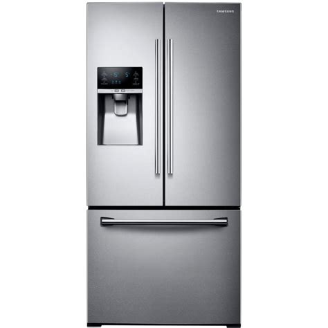 33 Wide Door Refrigerator With Water Dispenser by Samsung 25 5 Cu Ft 33 Inch Door Refrigerator With