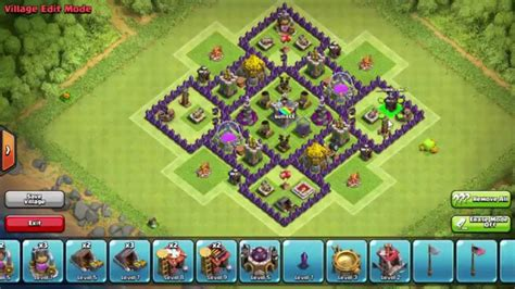 clash of clan town hall 7 base imga image gallery town hall 7