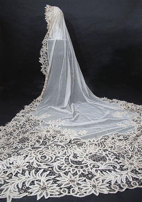 Lace Wedding Veil antique lace wedding veils sang maestro