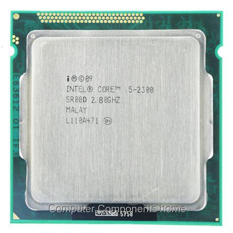 I5 2300 2 8 Ghz intel i5 2300 i5 2300 processor 2 8 ghz 6 mb cache
