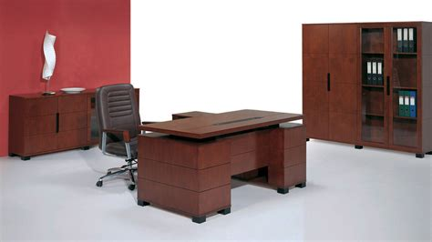 ford help desk ford executive modern desk with filing cabinets light walnut finish zuri furniture