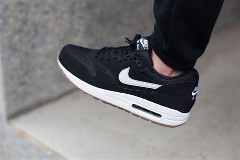 Nike Airmax 1 Black nike air max 1 essential black white gum sneaker bar detroit