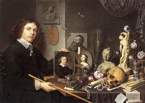 Une Vanite by La Vanit 233 Repr 233 Sent 233 E Dans L Autoportrait De David Bailly