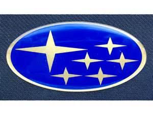 Subaru Insignia Subaru Impreza Bonnet Grill Badge Blue And Gold