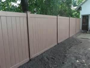 vinyl fence colors wood vinyl aluminum fence installation in ma