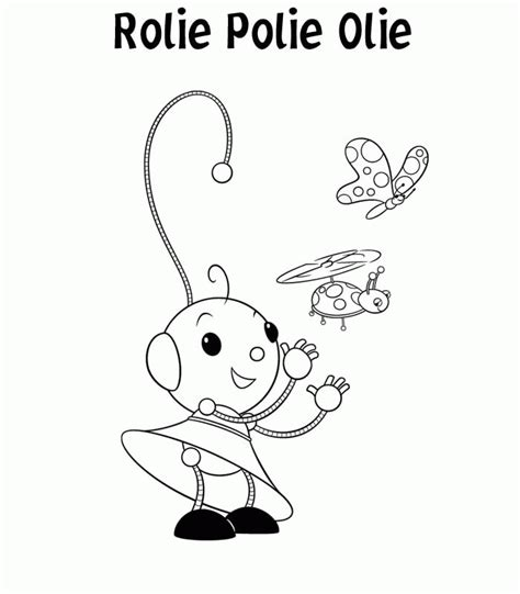 rolie polie olie happy coloring pages coloringpagesabc com