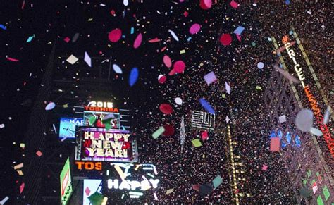 times square new years 2015 lineup new york rings in new year with heightened security in