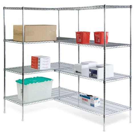 Wire Shelving Corner Units Marketlab Inc Wire Shelving Racks