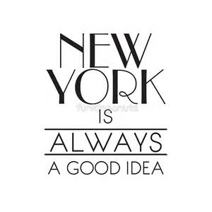 Transport Wall Stickers quot new york is always a good idea quot tote bags by funkingonuts