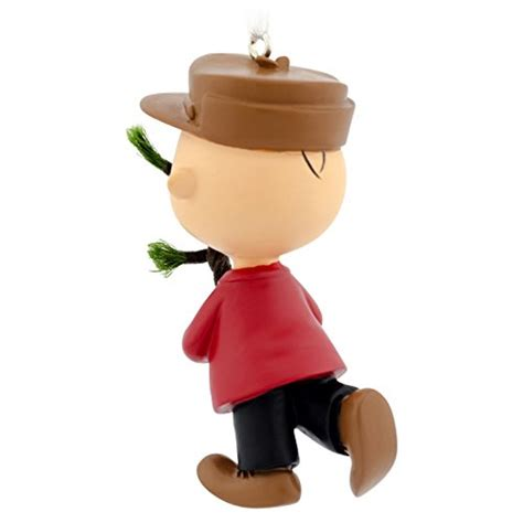 hallmark peanuts charlie brown with tree christmas