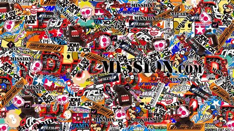stickerbomb wallpapers  background pictures