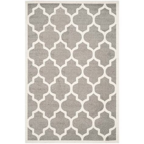 10 x 14 outdoor rug safavieh amherst grey indoor outdoor rug 10 x 14 amt420r 10