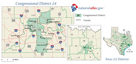 legislative districts in the texas house and senate are texas 24th congressional district representative in us house 110