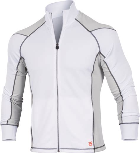 Bench Footwear - jaco mens hybrid training jacket white limited edition monster sports