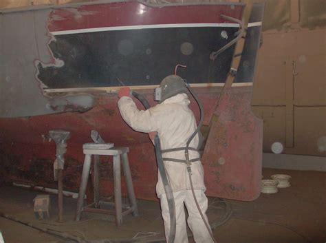polyester boot laten stralen stralen driestradriestra