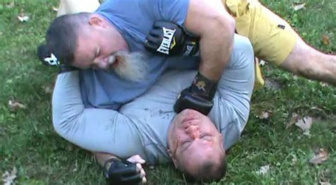 tank abbott bench press tank abbott scott ferrozzo backyard brawl