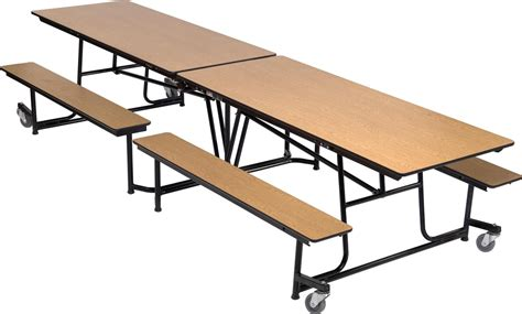 School Lunch Tables by Dine Mobile Folding Cafeteria Table Accent Environments