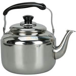 Clearance Kitchen Faucets New 3l Stainless Steel Tea Water Kettle Pot With Sound