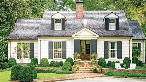 cottage house exterior charming cottage curb appeal makeover southern living