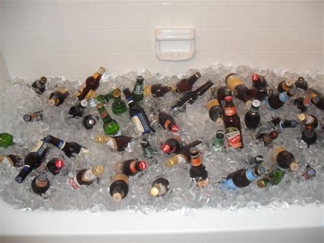 beer bathtub bathtub beer