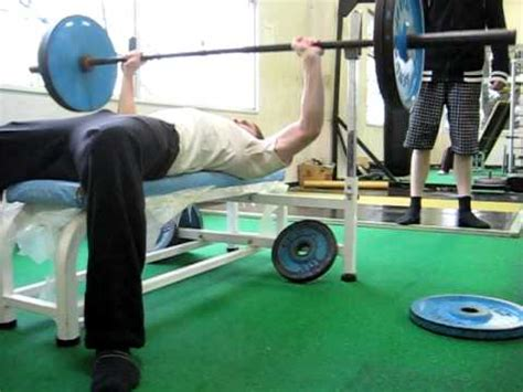 100kg bench press j蒸す bench press 100kg 10 reps ベンチプレス youtube