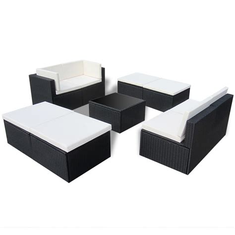 black rattan sofa set black rattan sofa set patio furniture for small es rounded