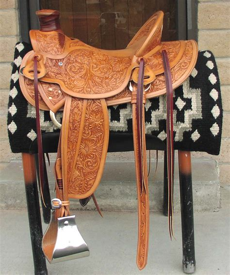 Handmade Tack - cust wade saddle 808 item 226 8 950 00
