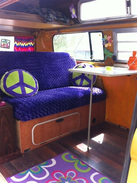 volkswagen van hippie interior hippie van interior zoom zoom pinterest