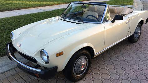 1980 fiat spider convertible 1980 fiat spider 2000 convertible u220 kissimmee 2017