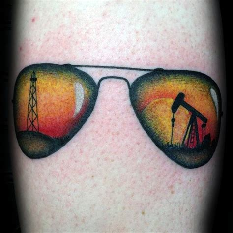 40 oilfield tattoos for worker ink design ideas