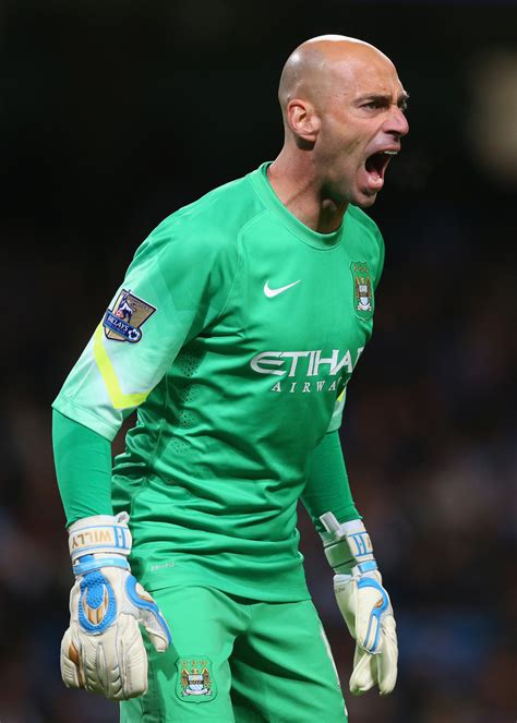 willy caballero willy caballero photos manchester city v sheffield