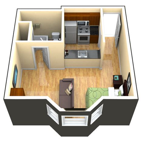 Garage Studio Apartment Plans by 420 Studio Apartment Floorplan Search Studio