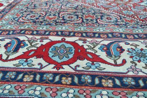 tapijt 300 x 350 prachtig perzisch isfahan tapijt handgeknoopt 300 x