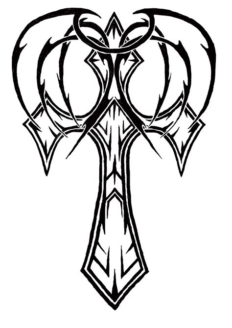 tribal cross tattoos cross tattoos designs ideas and meaning tattoos for you