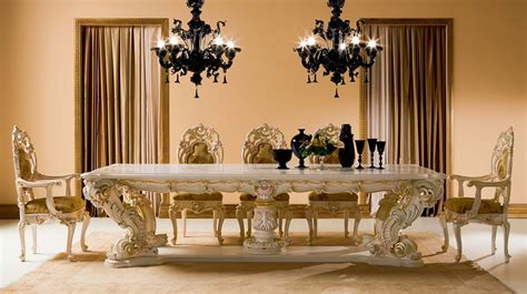 Minimalist Furniture Lavish Classic Dining Table Designs As Attractive Focal