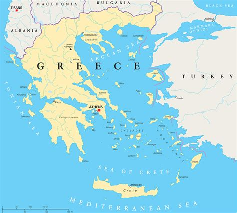 greece on map greece flag colors meaning and symbolism